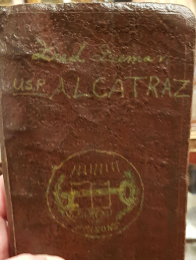 This little piece of Alcatraz history was recently sold in an antique shop in Dublin