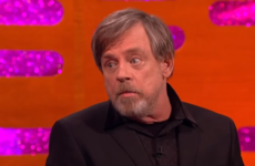Mark Hamill told Graham Norton he couldn't deal with the amount of steps he had to climb on Skellig Michael