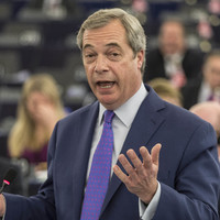 Nigel Farage claims he is 'skint' and says there is no money in politics