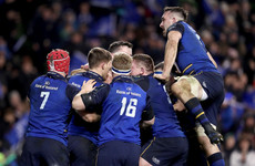 Leinster lose Sexton, but battle from 14 points down to beat Chiefs