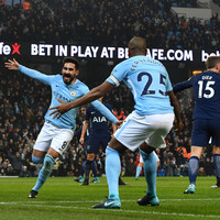 As it happened: Manchester City v Tottenham, Premier League