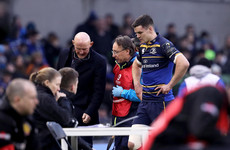 Sexton 'up and around by half-time' lending a helping hand to Ross Byrne after HIA