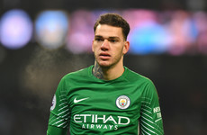 Nothing epitomises Pep Guardiola's Man City more than this Ederson stat from today's Spurs win