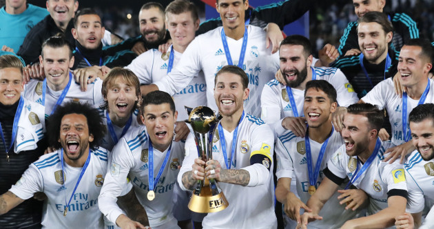 Five trophies in 2017: Real Madrid make more history by claiming Club World Cup title