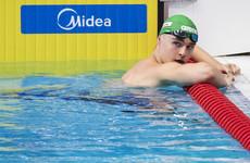 Ireland's Ferguson creates history to book semi-final spot at European swimming championships