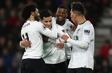 As it happened: Bournemouth v Liverpool, Premier League