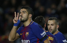 Ahead of next weekend's El Clasico, Barcelona moved 11 points clear of their rivals tonight