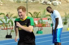 Watch: Prince Harry beats the fastest man on earth Usain Bolt