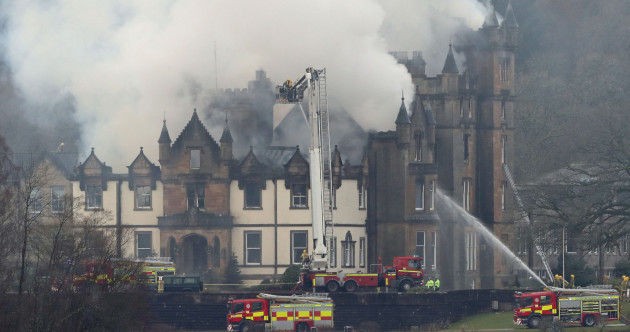 Two dead after massive fire at Cameron House Hotel