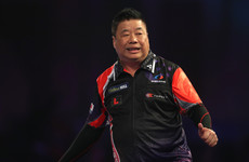 What a moment at Ally Pally tonight as 63-year-old Paul Lim pulled off a massive shock