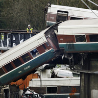 Derailed train was going 80mph in a 30mph zone