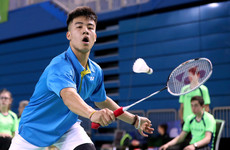 'I only started playing badminton when I came to Ireland... It was one of the ways I tried to fit in'