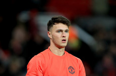 Promising Ireland U21 goalkeeper signs new Man United contract