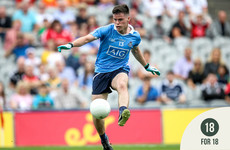 18 for 18: Ross McGarry is the latest talented footballer to roll off the Dublin production line