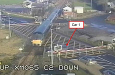 Near miss at level crossing after closed barriers trapped car, report finds