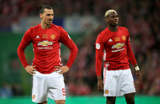 Pogba and Ibrahimovic return for Man United's EFL quarter-final with Bristol City