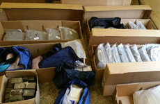 Two men arrested after €2.8m drugs seizure in Drumcondra