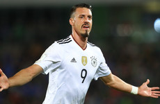 Bayern Munich complete €13 million signing of German striker