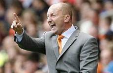 Disgusted Holloway rages against the machine