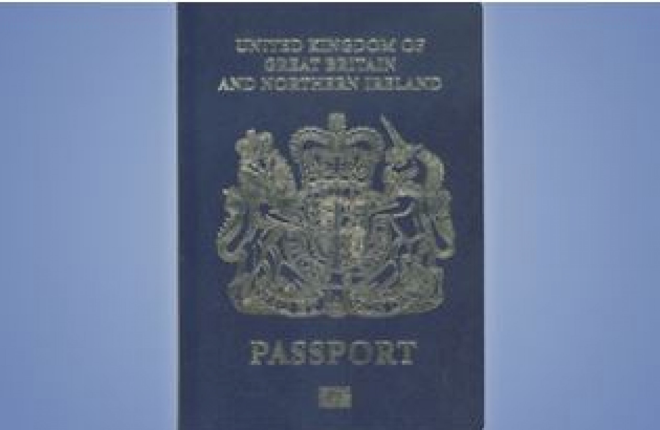Jersey passports to be blue