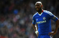 """Anelka, the league's top scorer, said: 'I do not play on the wing'"""
