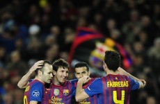 As it happened: Barcelona v Bayer Leverkusen, Champions League last 16