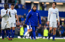 Conte bemoans 'unfair' draw at Everton as Chelsea fail to take their chances