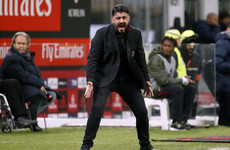 Gattuso: I am the least of Milan's problems