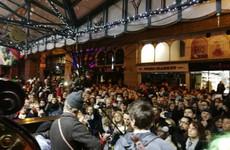 Hozier just joined Glen Hansard for a Christmas Eve singalong in Dublin