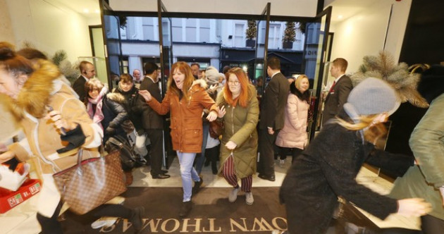 'I could lose the run of myself': We talked to the early risers queuing outside Brown Thomas