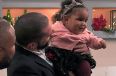 A couple that met on Channel 4's First Dates returned with their baby last night