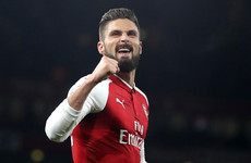 Giroud's wife doesn't want Everton move, claims Allardyce