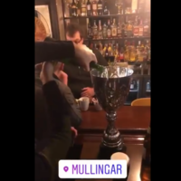 Niall Horan was on the lash in Mullingar last night because it's Christmas, after all