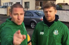 Duffer features in brilliant street football initiative by Shamrock Rovers