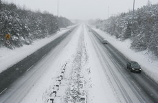 Three status yellow snow-ice warnings issued as sub-zero temperatures hit the country