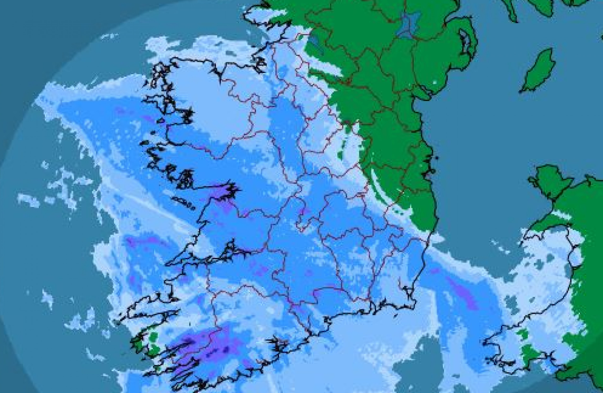 Status Orange Wind Warning As Storm Dylan Hits Ireland