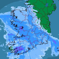 Snow-ice warning kicks in at 10pm for 14 counties ahead of Storm Dylan
