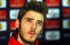 David de Gea: critics drove me on
