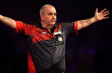 Retiring Phil 'The Power' Taylor marches into World Championship final