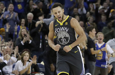 38 points in under 30 minutes! Curry sizzles on injury return for Warriors