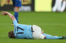 Refs need to protect players - Guardiola issues plea after de Bruyne injury