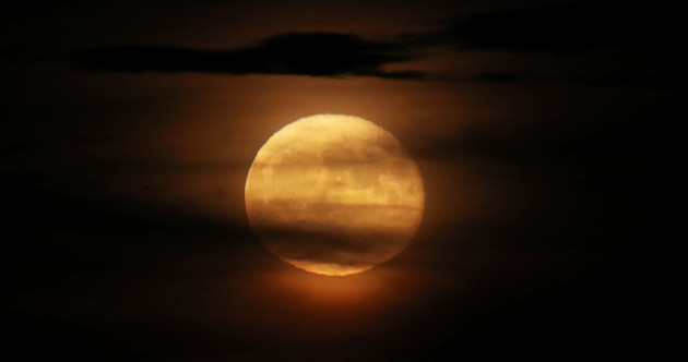 The first of two supermoons this month will be visible tonight