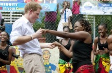 Prince Harry's blue blood suede shoes?