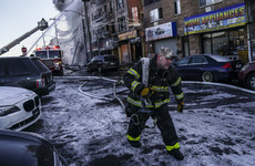 9 children among those injured in fire at another New York residential area