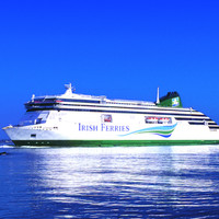 A new �160m ferry between Dublin and Holyhead will be the biggest of its kind in the world