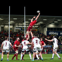 Ever-present Holland ruled out as injury-ravaged Munster lick wounds from Belfast