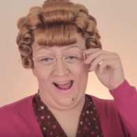 Someone has made a Mrs Brown's Boys makeup tutorial and it's terrifyingly accurate