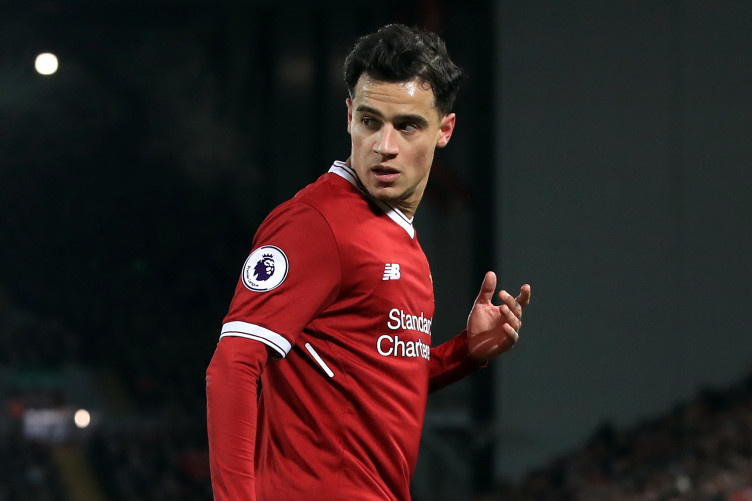Philippe Coutinho (file pic).