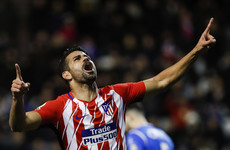 Costa marks Atletico return with debut goal four months after joining from Chelsea