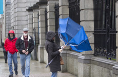 Yellow wind warning issued as flooding risk remains